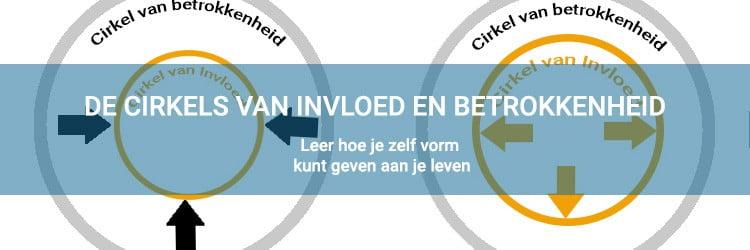 Zelf vorm geven aan je leven door de cirkel van invloed en betrokkenheid
