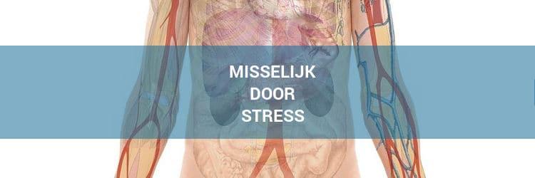 Misselijk door stress
