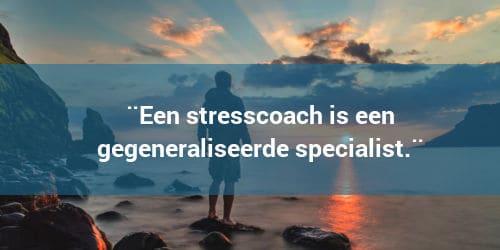 Wat is een stress coach