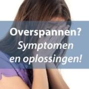Overspannen symptomen