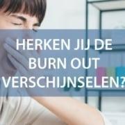 burn out verschijnselen