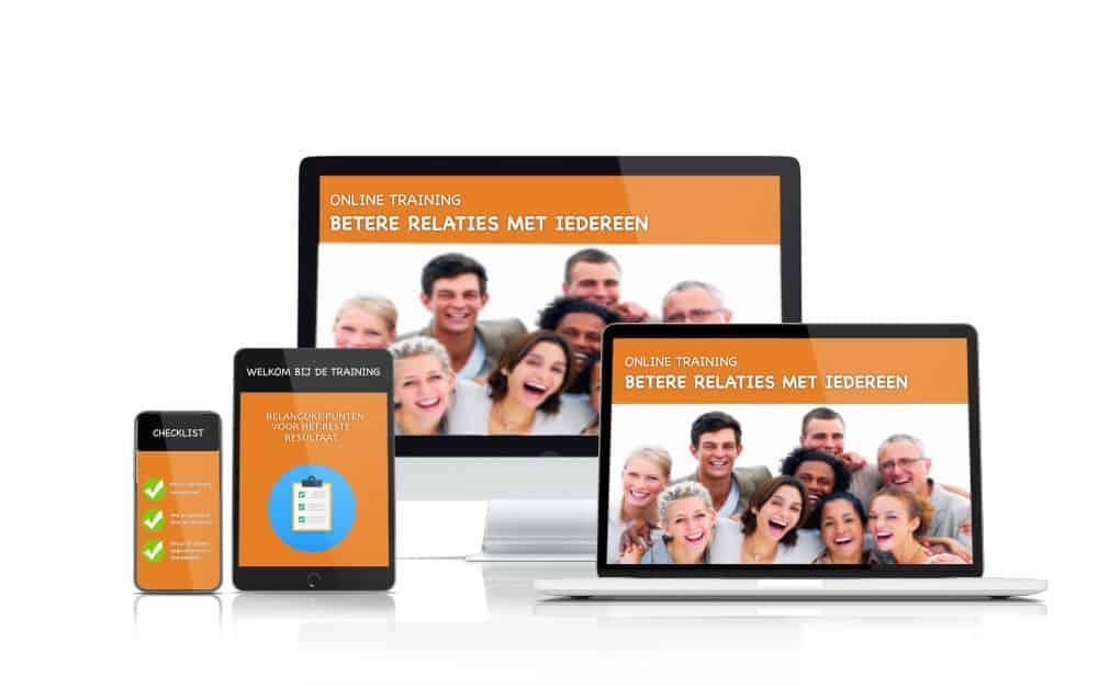 online training relaties
