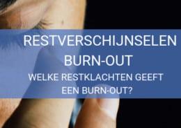 Klachten na burn-out