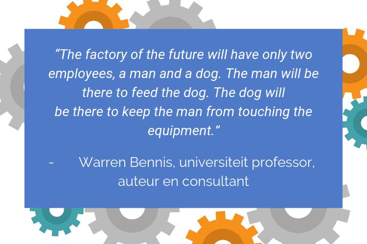 Quote van Warren Bennis